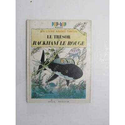 Tintin - Album Pop Hop - Le trésor de Rackham le rouge - Cartonné - EO - (1970)