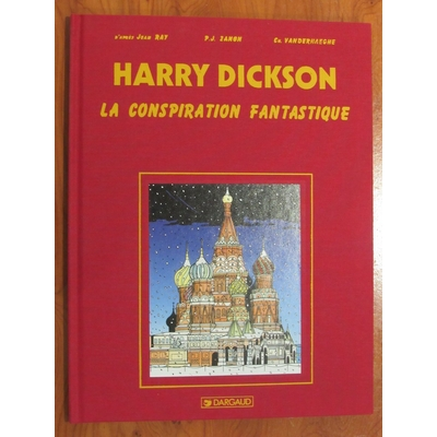Zanon - Harry Dickson - La conspiration fantastique -TT- EO(1999) - signé