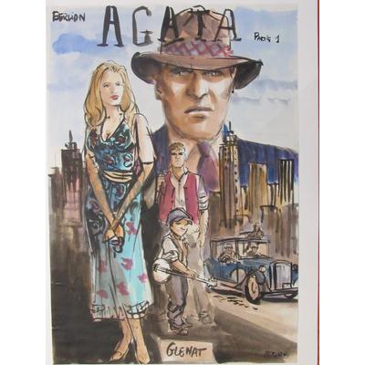 Berlion Olivier - Projet de couverture originale - Agata