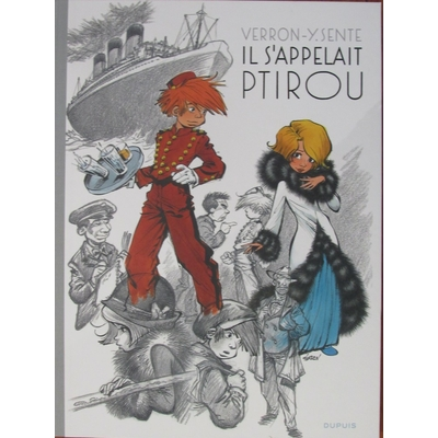 Verron Laurent - Il s'appelait Ptirou - TT - EO(2018) - Signé