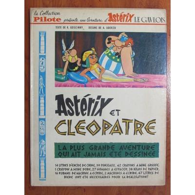 Uderzo - Astérix et Cléopatre - EO(1965)