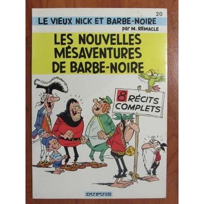 Remacle Marcel - Vieux Nick et Barbe noire - T.20 - EO (1976)