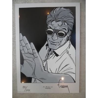 Francq Philippe - Plexi Largo Winch signé