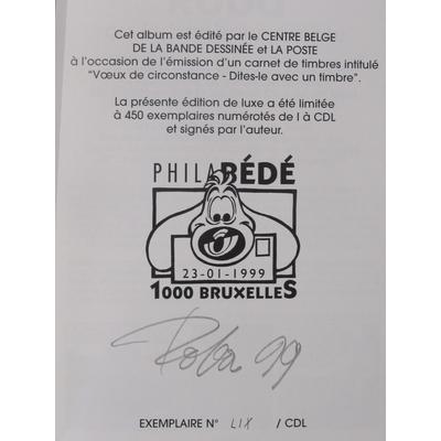 Roba- Bill a du cachet- tirage de tête philabédé - signé