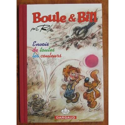 Roba- Boule et Bill -Envois de toutes les couleurs - tirage de tête philabédé - signé