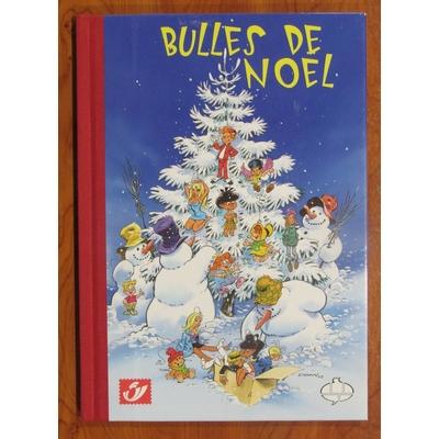 Macherot,Dany,Fournier..- Bulles de Noël - tirage de tête philabédé - signé