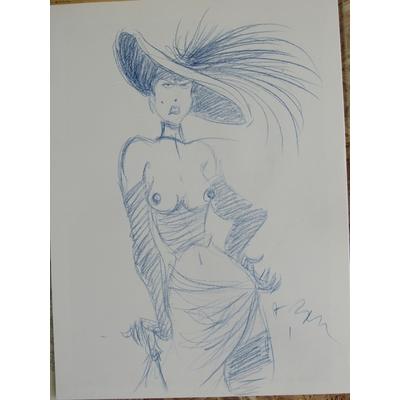 Benn André - Le magicien de Whitechapel + dessin original- TL - signé