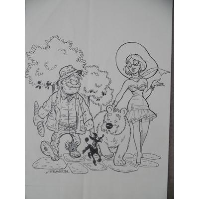 Aidans - illustration originale gag
