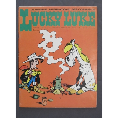 Morris -Journal de Lucky Luke n°4 - avec poster Paul Newman