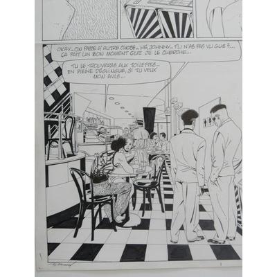 Renaud - planche originale Jessica Blandy