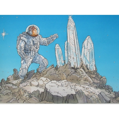 Marchand Bruno -Illustration originale -Crystal Starwathcher