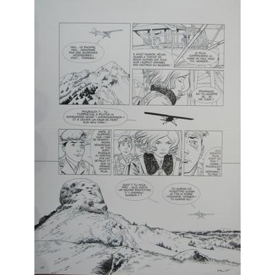 Henriet Alain - planche originale - Dent d'ours
