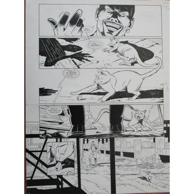 Henriet Alain- planche originale - John Doe