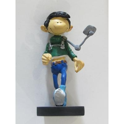 Franquin André - Figurine Gaston - rétroviseur à piéton