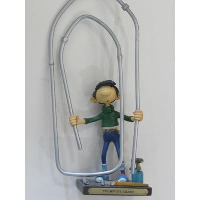 Franquin André - Figurine Gaston - Trombone géant