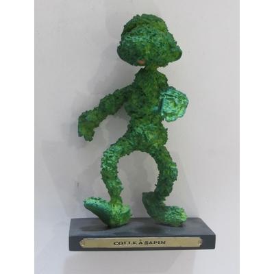 Franquin André - Figurine Gaston - colle à sapin