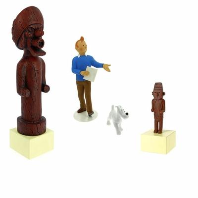 Figurines Tintin - Musée Imaginaire + Totem + Fétiche