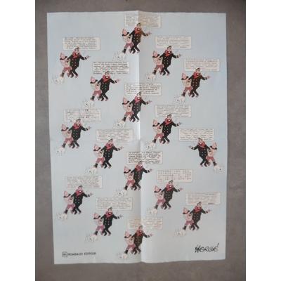 Tintin - poster injures du capitaine Haddock