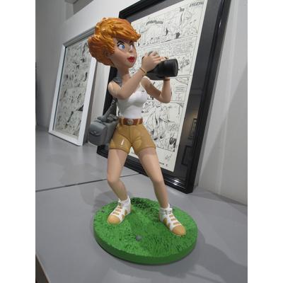 Wasterlain Marc - Figurine Jeanette Pointu - 15 ex. avec dessin original