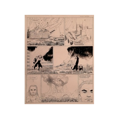 Renaud - planche originale - Santiag