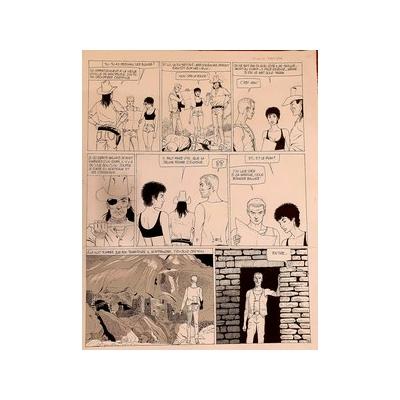 Renaud - planche originale -Santiag