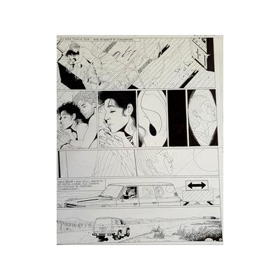 Renaud - planche originale - Les enfants de la Salamandre
