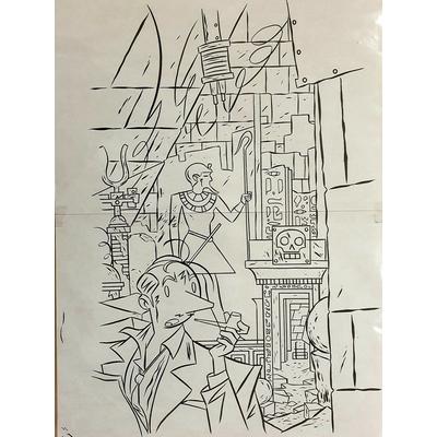 Lapone - illustration originale - A.D.A