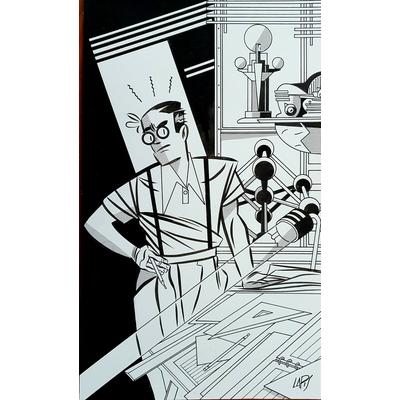 Lapone - illustration originale - Expo 58