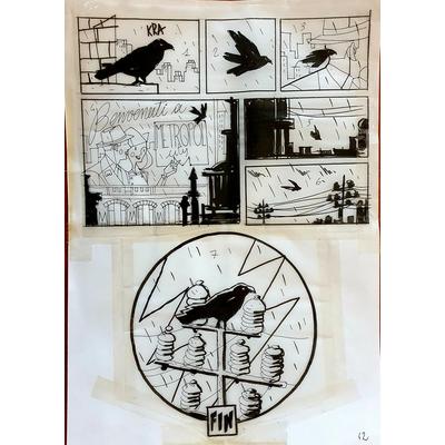 Lapone Antonio - planche originale -A.D.A