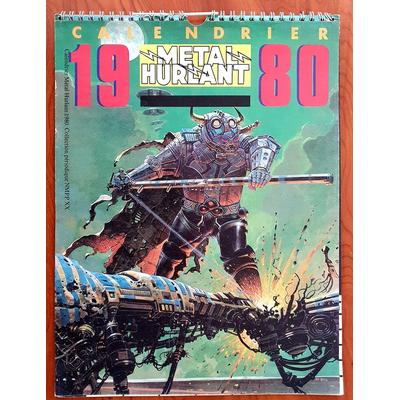 Moebius - calendrier collectif Metal Hurlant 1980