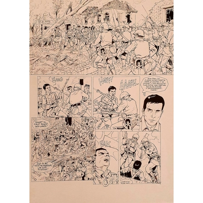 Glogowski Philippe - planche originale - Ypres mémomries
