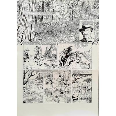 Glogowski Philippe - planche originale - Paroles de scouts