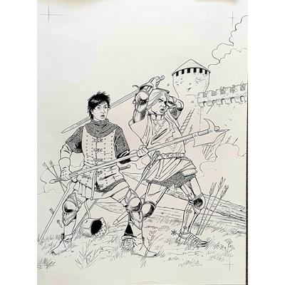 Glogowski Philippe - couverture originale - Le trésor du Puy du fou T.3