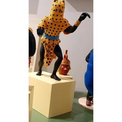 Hergé - L'homme léopard - Tintin et le musée imaginaire