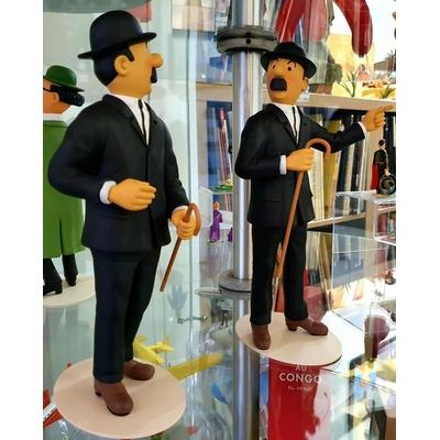 Hergé - Dupond et Dupont - Tintin et le musée imaginaire