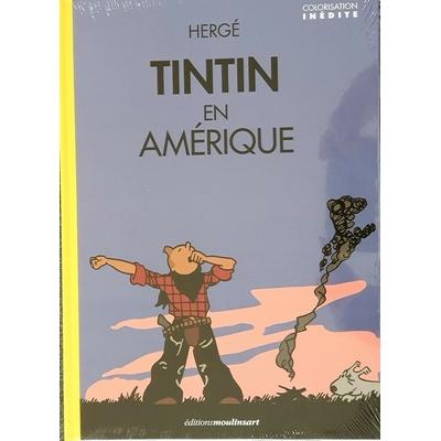 Hergé - Tintin en Amérique - colorisation inédite