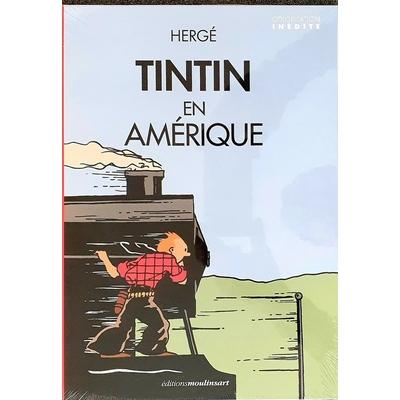 Hergé-Tintin en Amérique - colorisation inédite