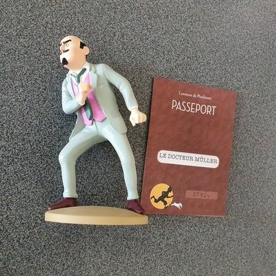Hergé - Tintin - Le docteur Muller