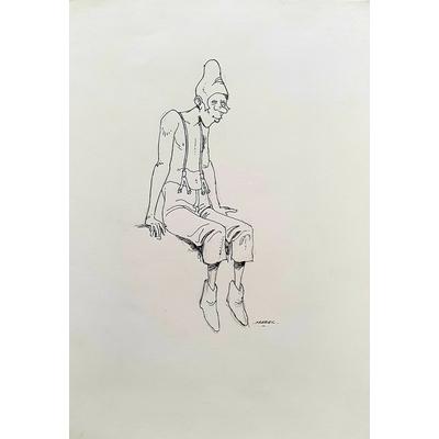 Mazel - illustration hommage à Moebius