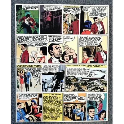 Forton - mise en couleur- pl.11 - Bob Morane