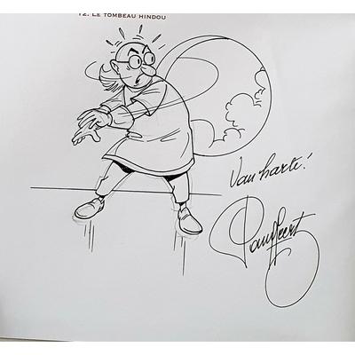 Geerts Paul - illustration originale- Bob et Bobette-