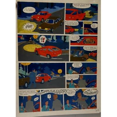 Jidéhem - mise en couleur - Ginger T.6 -Planche 3 + BD