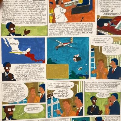 Jidéhem - mise en couleur - Ginger T.6 -Planche 16 + BD