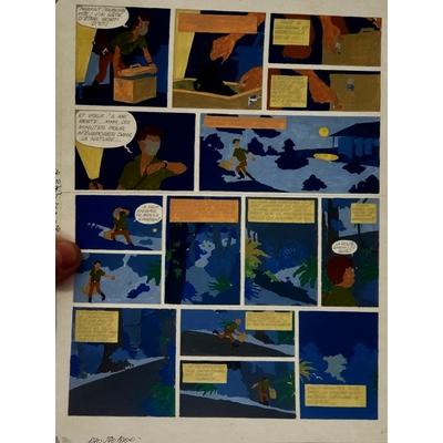 Jidéhem - mise en couleur - Ginger T.6 -Planche 3a + BD