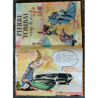 Hardy Marc - illustration originale ( dédicace en couleur) -Pierre Tombal T.9 + AC