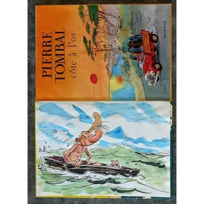 Hardy Marc - illustration originale ( dédicace en couleur) -Pierre Tombal T.6