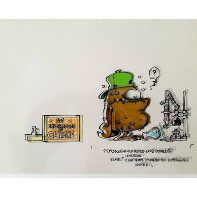 Midam - illustration (mise en couleur+film) - Kid Paddle