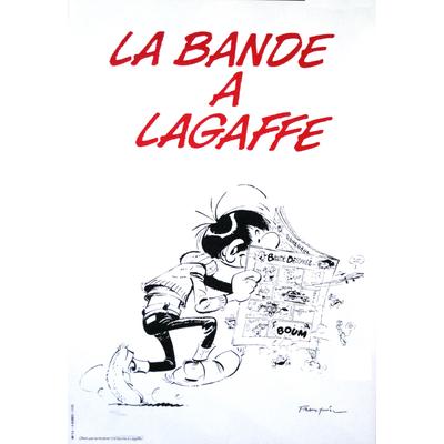 Franquin André - sérigraphie Gaston