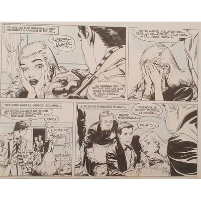 Deynis René - planche originale - Jack Flash pl.966