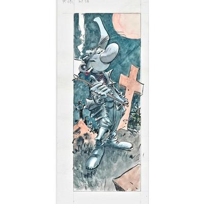 Hardy Marc - illustration originale -Pierre Tombal